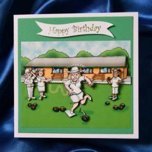 BIrthday bowls card