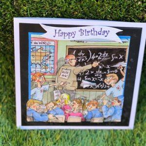 3d Handmade teacher birthday card