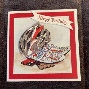 3D handmade birthday card | father's day card | sport | transport | leisure | hobbies |