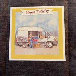 3D handmade birthday | jobs | white van | transport