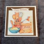3d handmade   birthday cards   baking   cooking