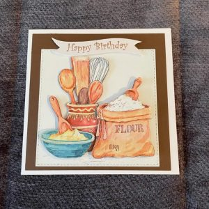 3d handmade | birthday cards | baking | cooking