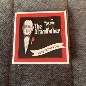 The grandfather themed birthday card   3d handmade Father's Day card